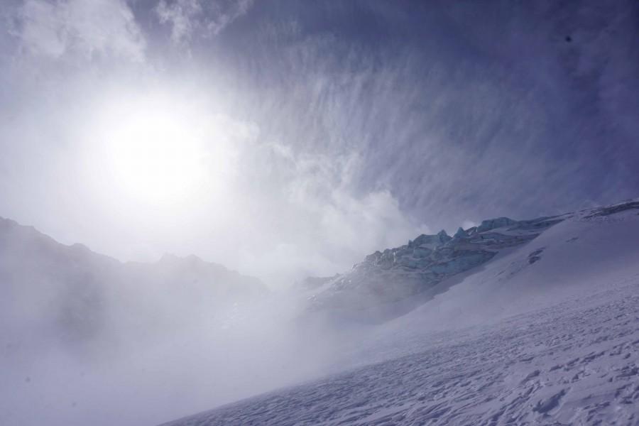 Erster Schitag Stubai Gletscher