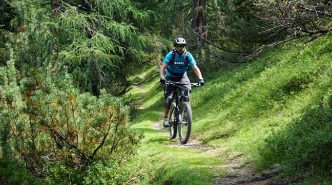 1. offizieller Trail im Stubai!