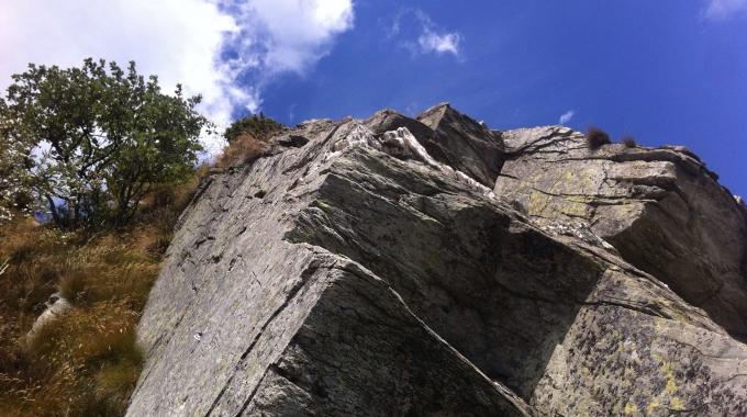 Klettern im Aostatal !