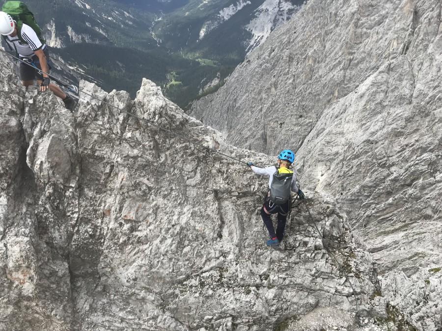 Klettersteig Innsbruck : Innsbrucker klettersteig upanddown